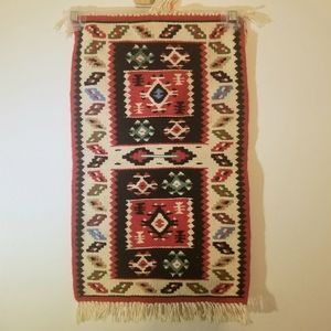 Other - Handwoven Vintage Wool Tapestry